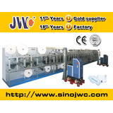 High Speed Sanitary Napkin Machine with Quick-Easy Package (JWC-KBD400)