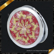 Espejo caliente del compacto de la manera del metal de la venta, espejo caliente (MW015)