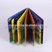 Impresión de libro de tablero de niños con papel grueso