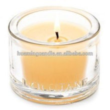 Christmas gift scented glass candle manufacturer