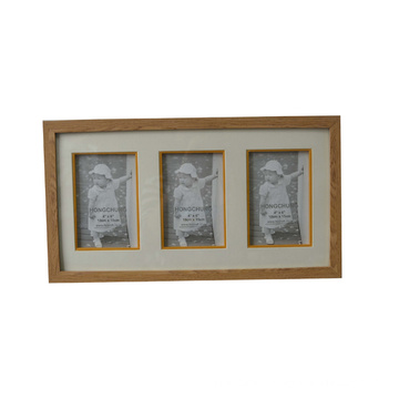 Natural Collage MDF Picture Frame for Wall Deco