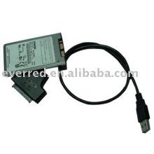 Cabo de conversor USB para Micro SATA