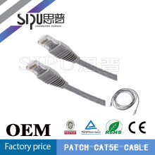 SIPUO China cable fábrica alta calidad 1 metro utp cat.5e patch cable de bajo voltaje