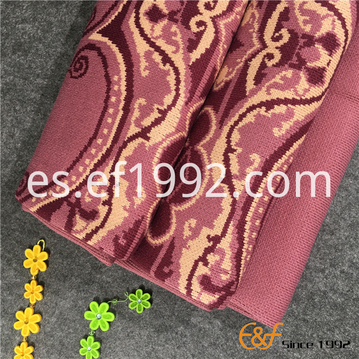 winter jacquard knitted blanket