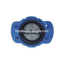 Série BG800H toda a válvula de retenção de revestimento de borracha