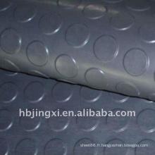 Feuille en caoutchouc vieillie de EPDM de résistance au vieillissement de bouton gris