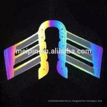 Arco-íris de cor TPU 7 reflexivo para sapatos