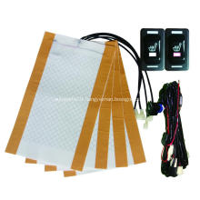 Seat heated carbon fiber for car ford