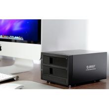 ORICO 9928RU3 Boîte de rangement HDD SATA USB 3.0 à 2 baies de 3,5 pouces