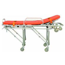 Civière d'ambulance d'alliage d'aluminium d'hôpital