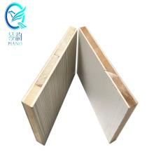 Qinge 20mm E0 glue ultra brighten/matte/relief HPL overlaid surface concrete block board for wardrobes with fsc certification