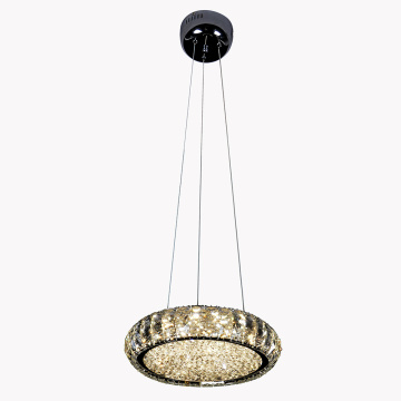 LED hanging light Chrome chandelier
