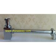 Square P Trap Drain Waste, Zinc Alloy Basin / Sink Drain (SW-30-Zinc)