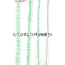 Gemstone bead with dyed color for DIY jewelry