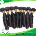 Extensão barata do cabelo humano do cabelo do Virgin do cabelo de Remy do preço da categoria 7A