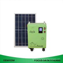 Полный мобильный 1кВт набора с системы решетки 2kw домой солнечной энергии