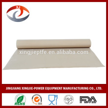 Teflón de PTFE / Teflón chino Tejido de tela de fibra / tejido / cinta transportadora