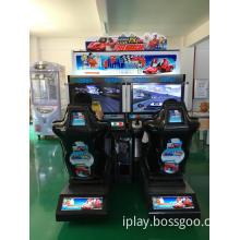 OUTRUN simulator driving game machine