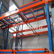 Holz Regalsystem Warehouse Sistema Push Back Pallet Rack
