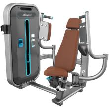Máquina da força do exercício da caixa traseira de Delt