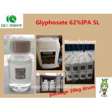 Herbicide Glyphosate 95% TC 480g / l SL 41% SL 62% IPA SL 74,7% WDG 75,7% WDG CAS 1071-83-6