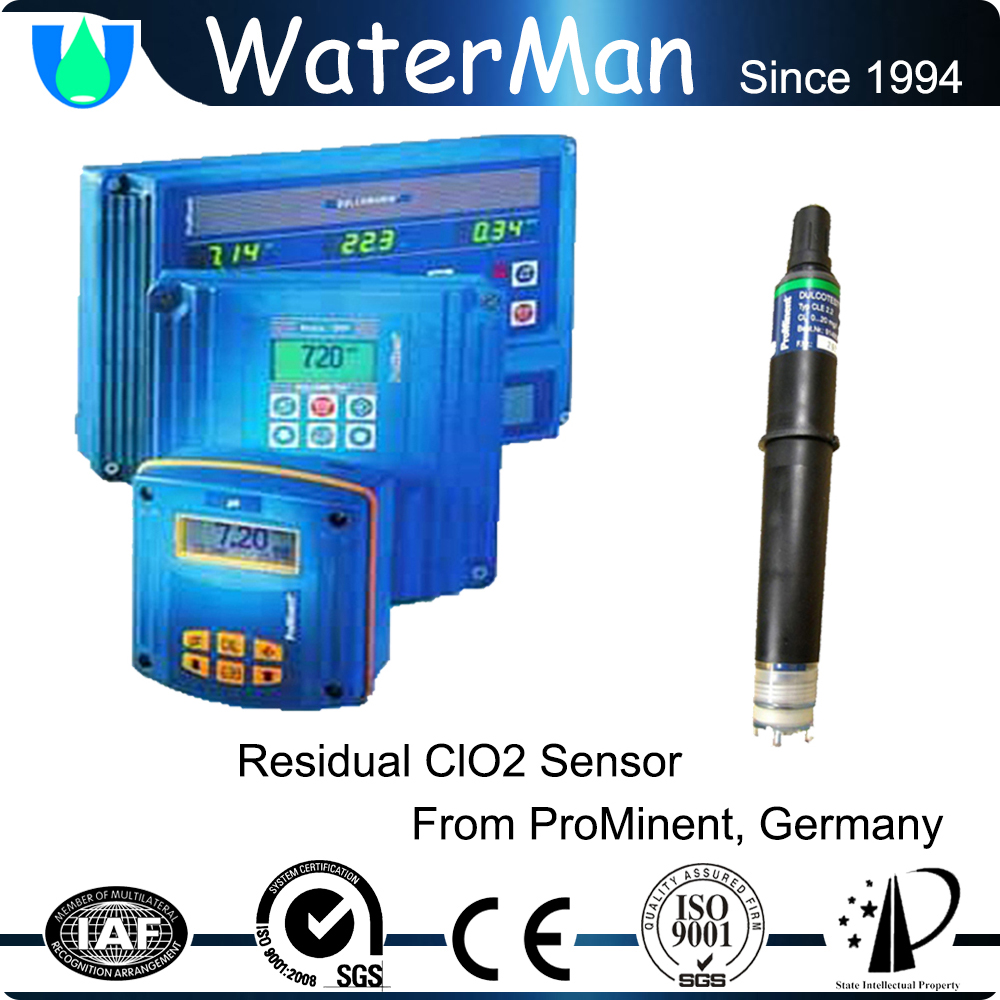 clo2 biocide production facility with chlorine dioxide test kit