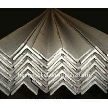 Barra de acero angular con buena calidad