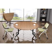 orizeal haute qualité ronde table de conférence pliante centrale
