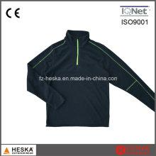 1/4 Reißverschluss Mens Outdoor-Mantel leicht billig Fleece Sweatjacke