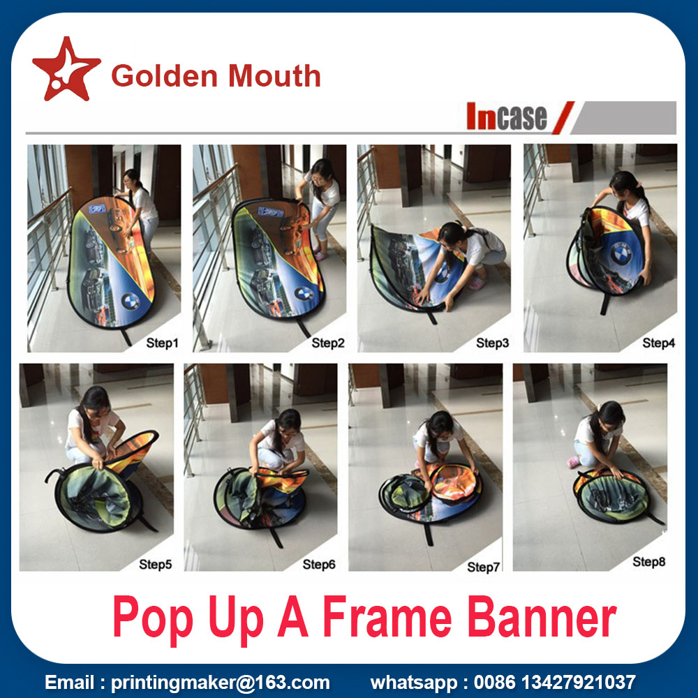 pop up a frame banner