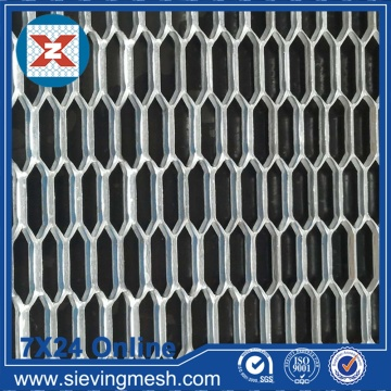 Hexagonal Hole Expanded Mesh Metal