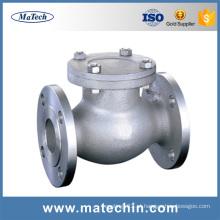 China Corpo de válvula dútile personalizado fundição da porta do ferro fundido da qualidade