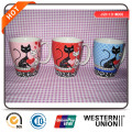 Porcelain Decal Mugs, Coffee Mug