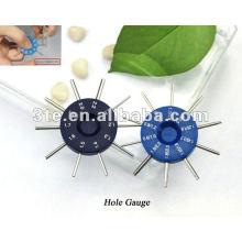 Orifice d'objectif optique Gauge Plug Gauge