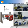 Dental Laboratory Technician Workstation Zahntechniker Tisch Techniker Arbeit Tabelle
