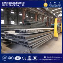 boa qualidadeHot Rolled / SS400 Q345 material de construçãoA estrutura de aço H Feixe / eu feixe de aço fábrica / fábrica preços