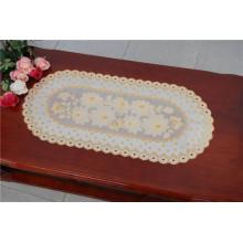 Heißer Verkauf PVC Tischset mit Spitze Gold Dekorative