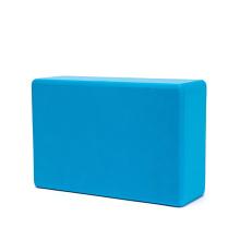 "3""x6""x9"" factory direct eco pilates blue meditation workout non-slip anti skid personalised yoga block"