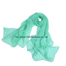 Frauen-Falten-Normallack-weicher leichter Schal