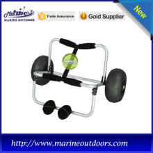 Trailer trolley, Boat kayak cart with balloon wheel, Aluminum trolley for canoe