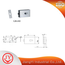 SS304 Door Lock Parts For Glass