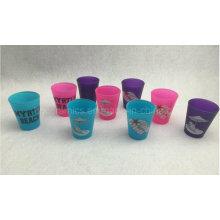 Neon Color Schnapsglas, Werbe Schnapsglas