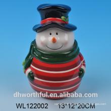 Récipient à aliments hermétique en céramique pour les vacances de Noël