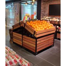 Soportes de exhibición POP de frutas y verduras para góndola