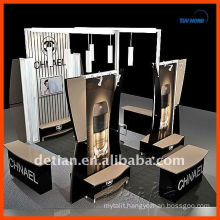 design & cusomtize reusable Shanghai sell and rent modular display exhibition stand,exhibit stand system in China