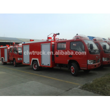 factory price 3ton dongfeng fire truck, 4x2 mini new fire truck sale