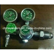 Medical Oxygen Cylinder Regulator with Double Gauges
