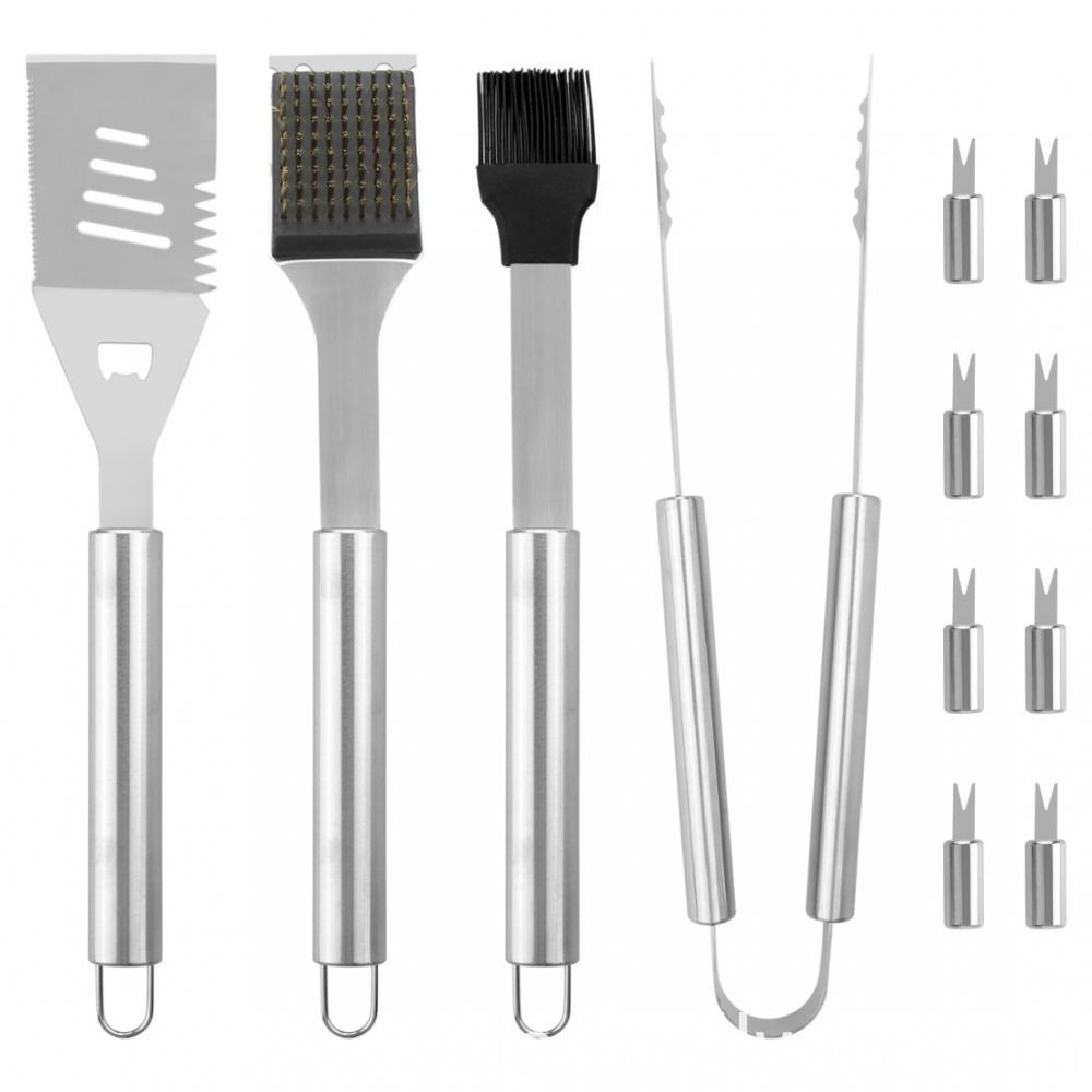 Grill Tools With Aluminum Case
