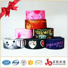 Polyester nonelastic woven tape jacquard webbing for bag