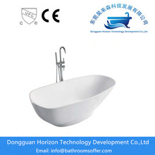 Customized Supplier for Stand Alone Oval Bathtub Solid Surface tub hydraulic bathroom showers combo export to India Exporter